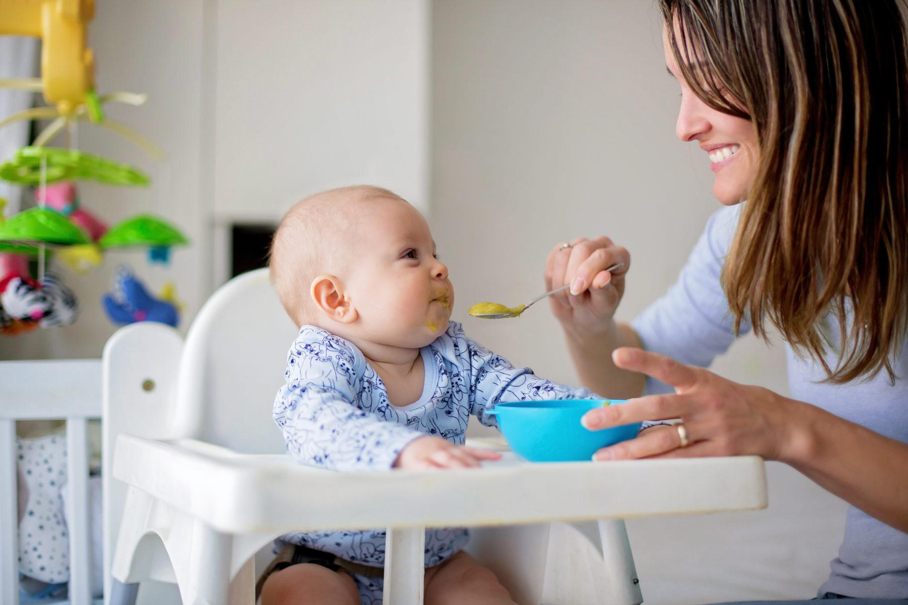 Posiłek dla dziecka z alergią pokarmową