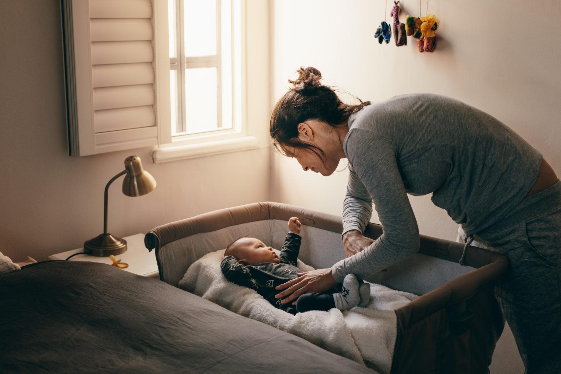 duszność u niemowlaka